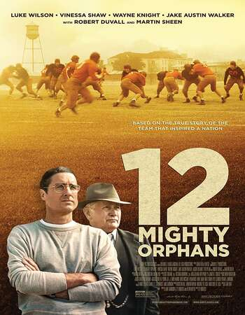 12 Mighty Orphans 2021 English 720p Web-DL 1GB ESubs