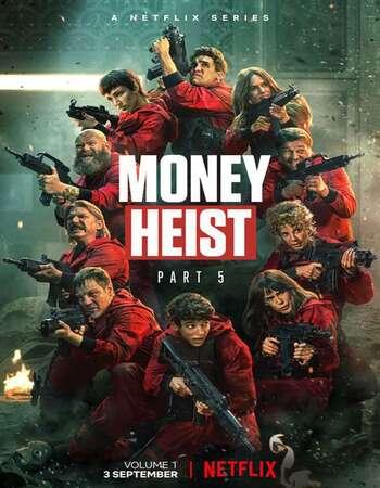 Money Heist 2021 Hindi Dual Audio Web-DL Full Netflix Season 05 1080p Download