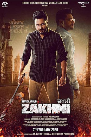 Zakhmi 2020 Punjabi 720p HDRip 950mb