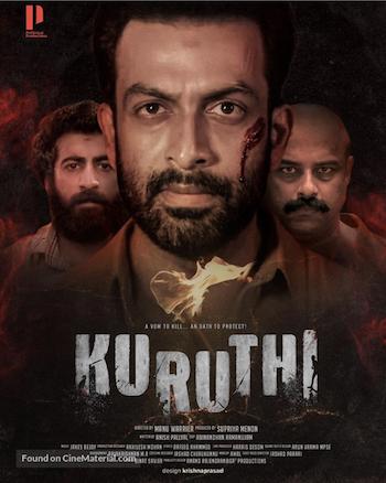Kuruthi 2021 Hindi Dubbed 720p WEB-DL 950mb