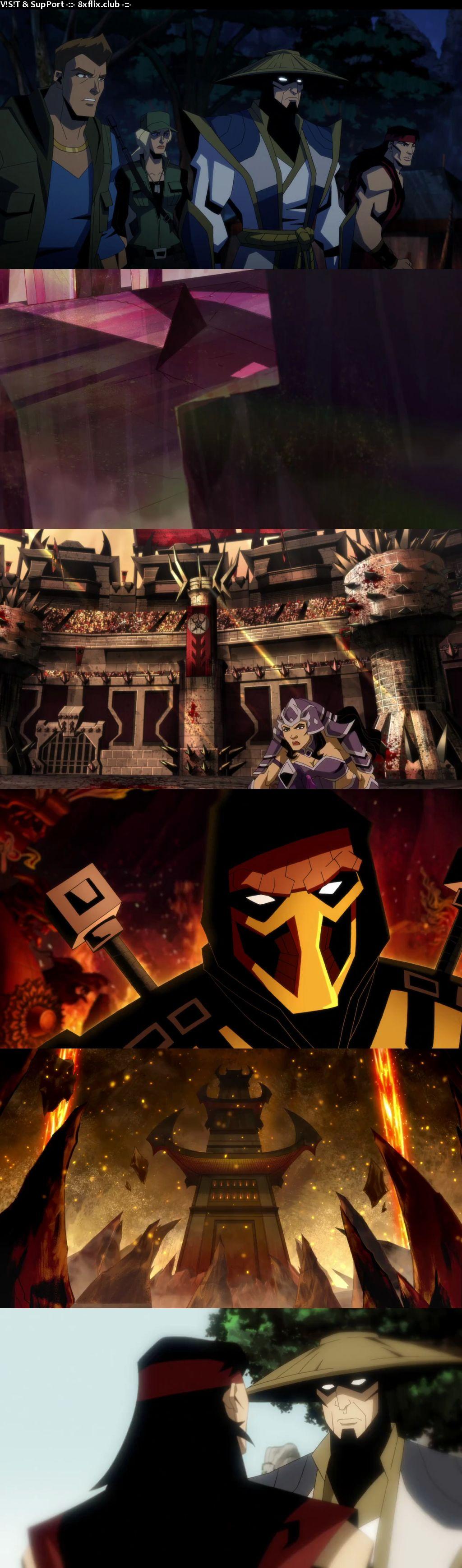 Mortal Kombat Legends Battle Of The Realms 2021 English 720p 480p Web-DL HD