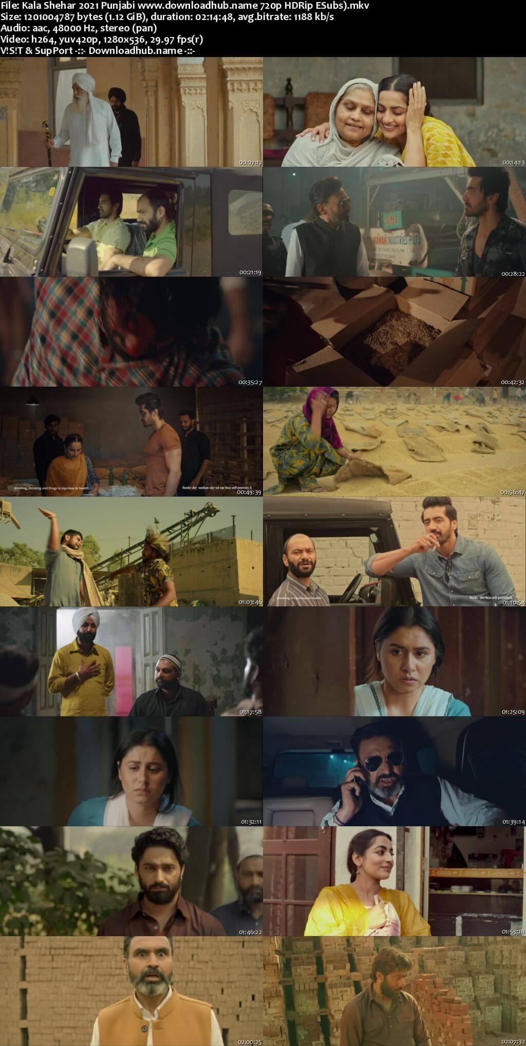 Kala Shehar 2021 Punjabi 720p HDRip ESubs