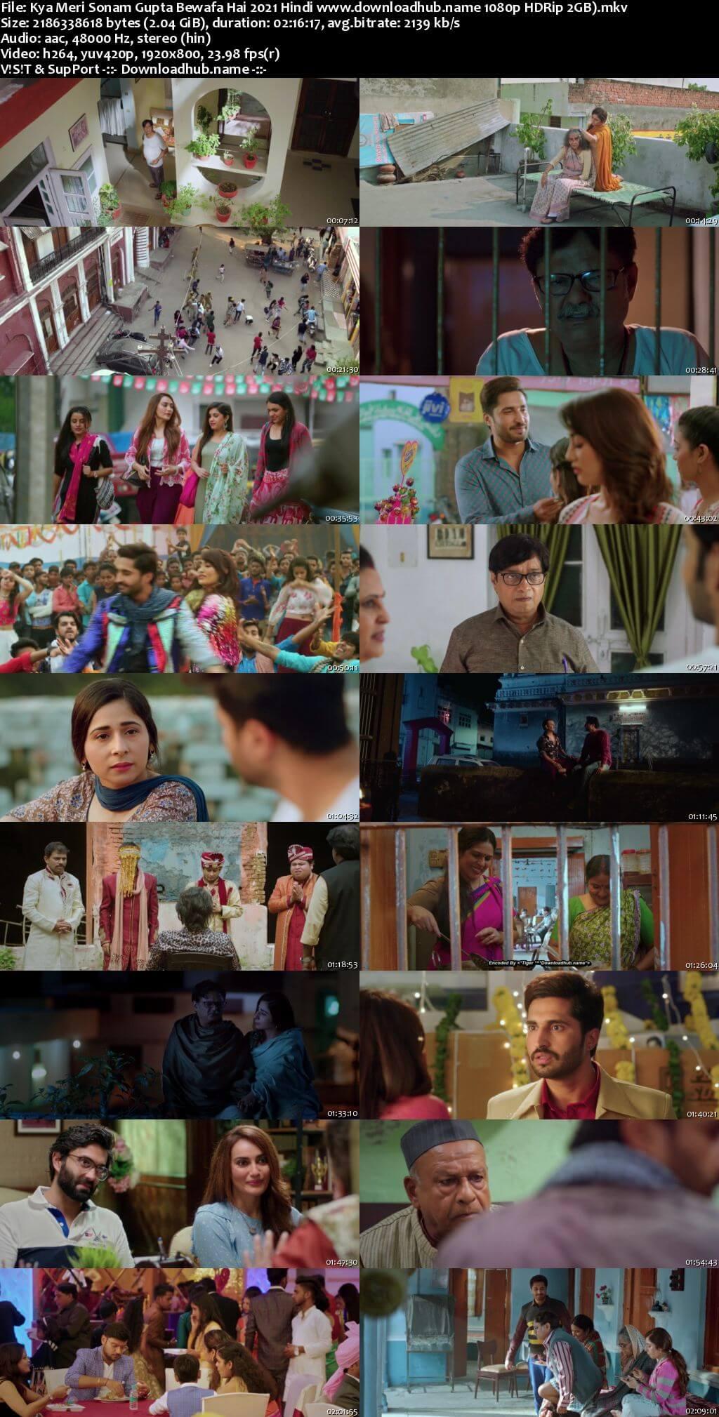 Kya Meri Sonam Gupta Bewafa Hai 2021 Hindi 1080p HDRip 2GB