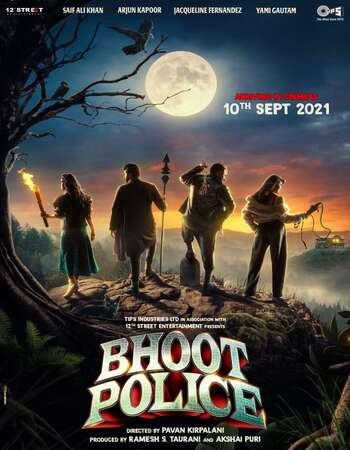 Bhoot Police 2021 Hindi 720p HDRip MSubs