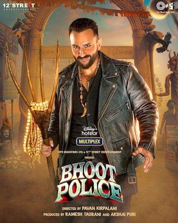 Bhoot Police 2021 Hindi 720p WEB-DL 999MB