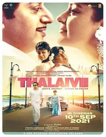 Thalaivii 2021 Hindi 720p HDRip ESubs