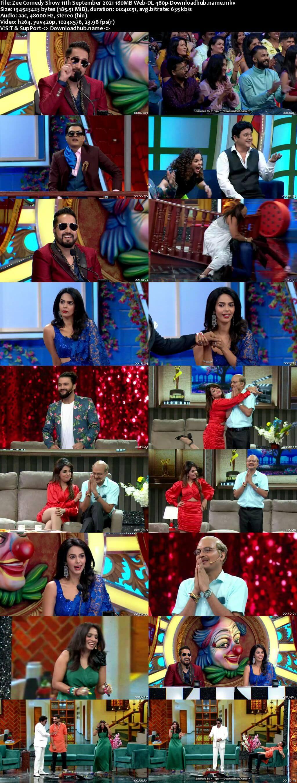 Zee Comedy Show 11 September 2021 Episode 13 Web-DL 480p