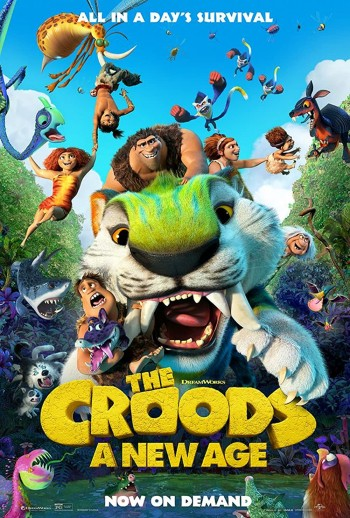 The Croods A New Age 2020 Dual Audio Hindi English BRRip 720p 480p Movie Download