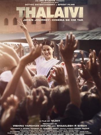 Thalaivi 2021 Hindi Full Movie Download