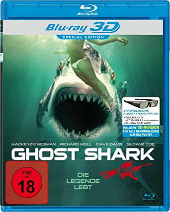 Ghost Shark 2013 Unrated Dual Audio Hindi 480p BluRay 280mb