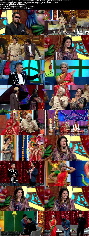Zee Comedy Show 12 September 2021 Episode 14 Web-DL 480p