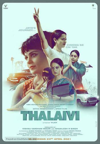 Thalaivi 2021 Hindi 720p 480p WEB-DL [1.1GB 400MB]
