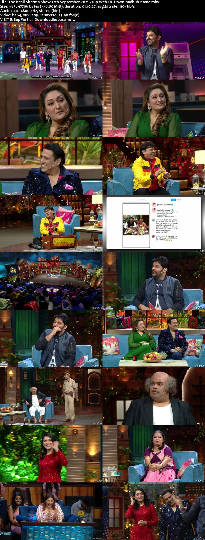 The Kapil Sharma Show 12 September 2021 Episode 187 Web-DL 720p 480p