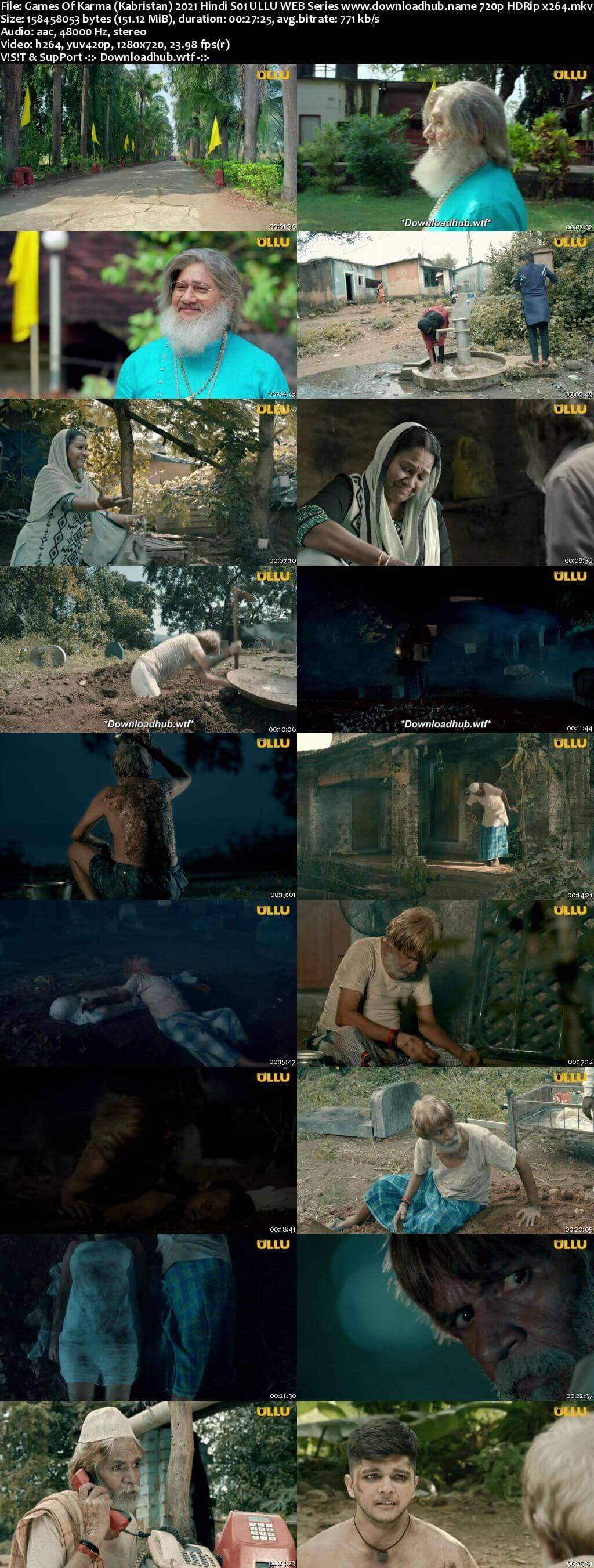 Games Of Karma (Kabristan) 2021 Hindi S01 ULLU WEB Series 720p HDRip x264