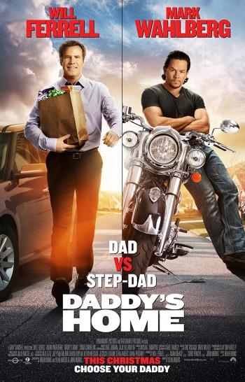Daddys Home 2015 Dual Audio Hindi English BRRip 720p 480p Movie Download