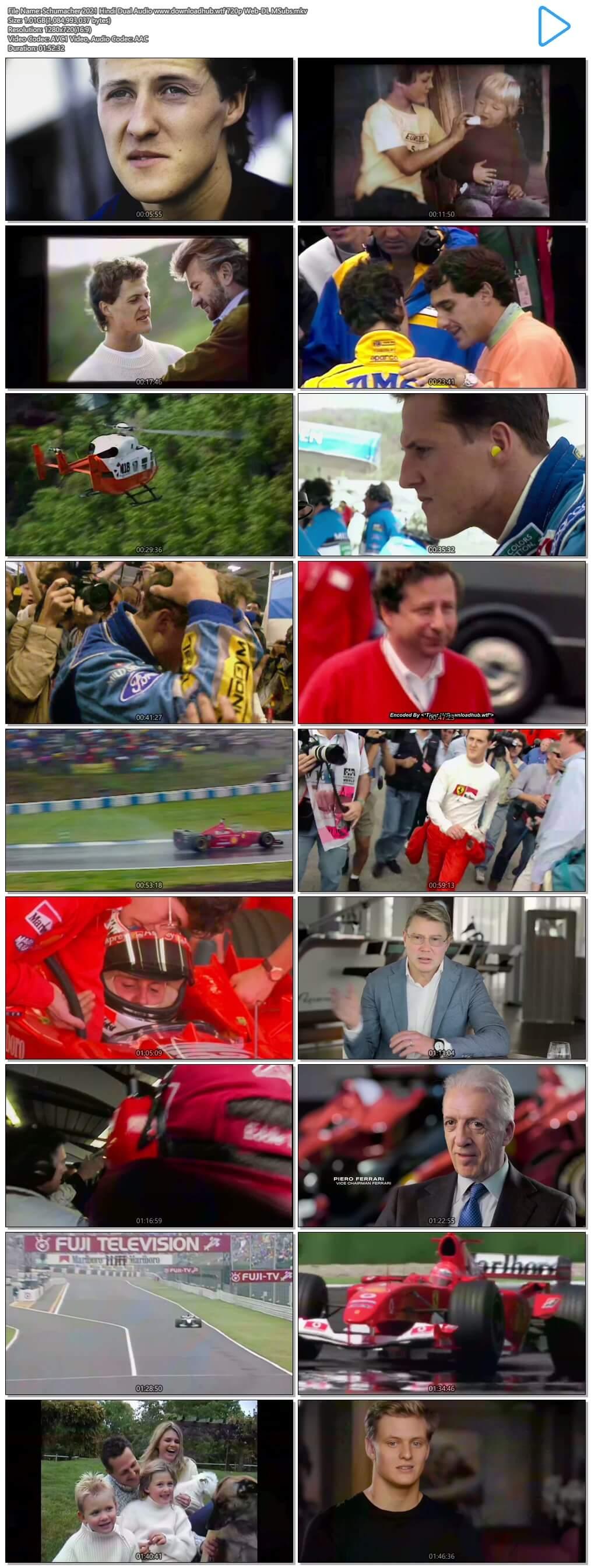 Schumacher 2021 Hindi Dual Audio 720p Web-DL MSubs