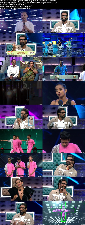 Dance Plus 6 15 September 2021 Episode 03 Web-DL 720p 480p