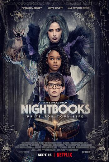 Nightbooks 2021 Dual Audio Hindi 480p WEB-DL 300mb