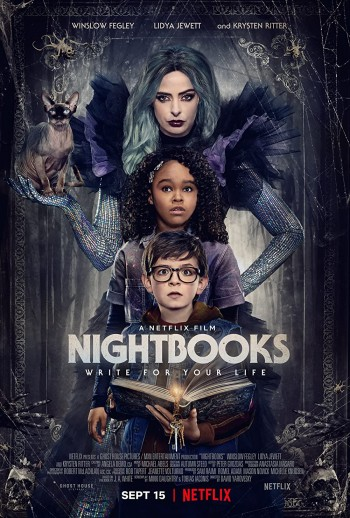 Nightbooks 2021 Dual Audio Hindi Full Movie Download