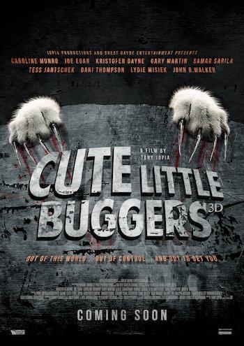 Cute Little Buggers 2017 UNCUT Dual Audio Hindi 480p WEBRip 300mb