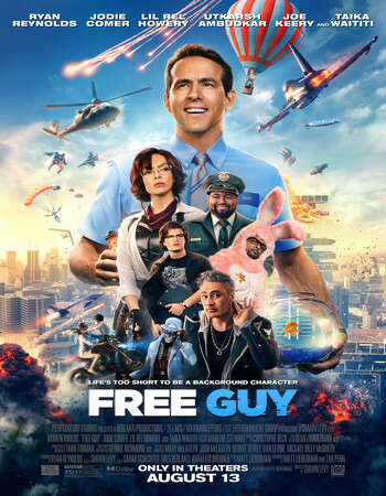 Free Guy 2021 Hindi (CAM Cleaned) Dual Audio 350MB Web-DL 480p
