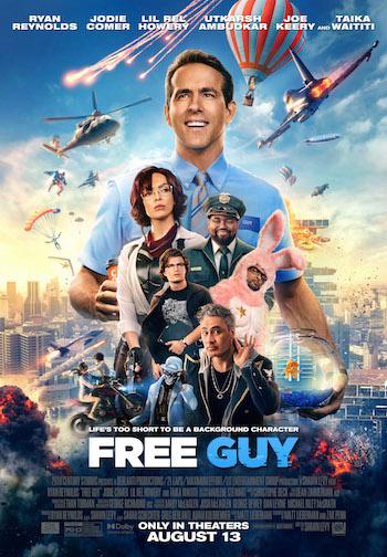 Free Guy 2021 Dual Audio Hindi 480p HDCAM 300mb