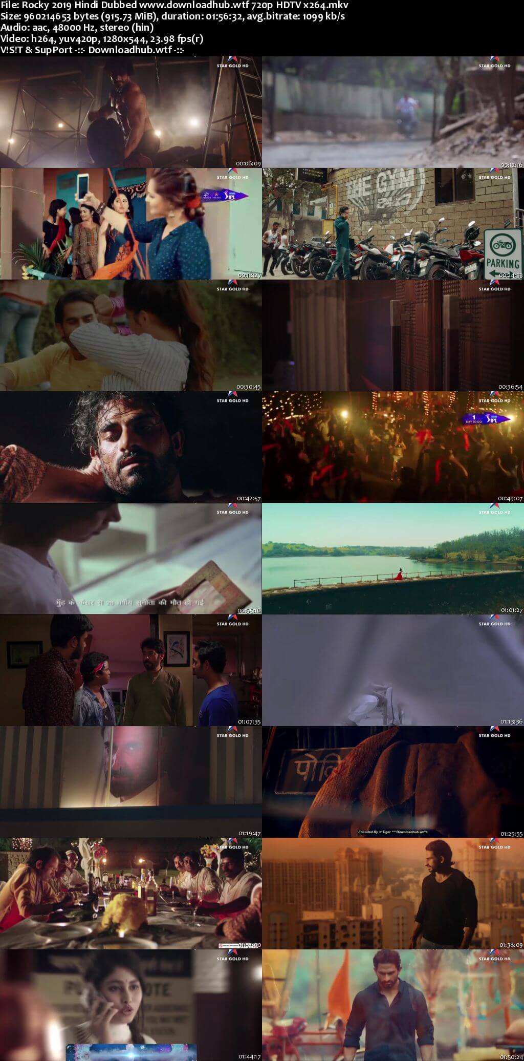Rocky 2019 Hindi Dubbed 720p HDTV x264