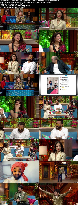 The Kapil Sharma Show 18 September 2021 Episode 188 Web-DL 720p 480p