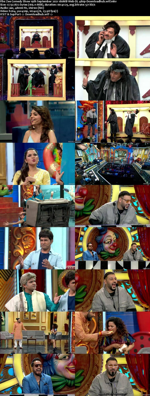 Zee Comedy Show 19 September 2021 Episode 16 Web-DL 480p