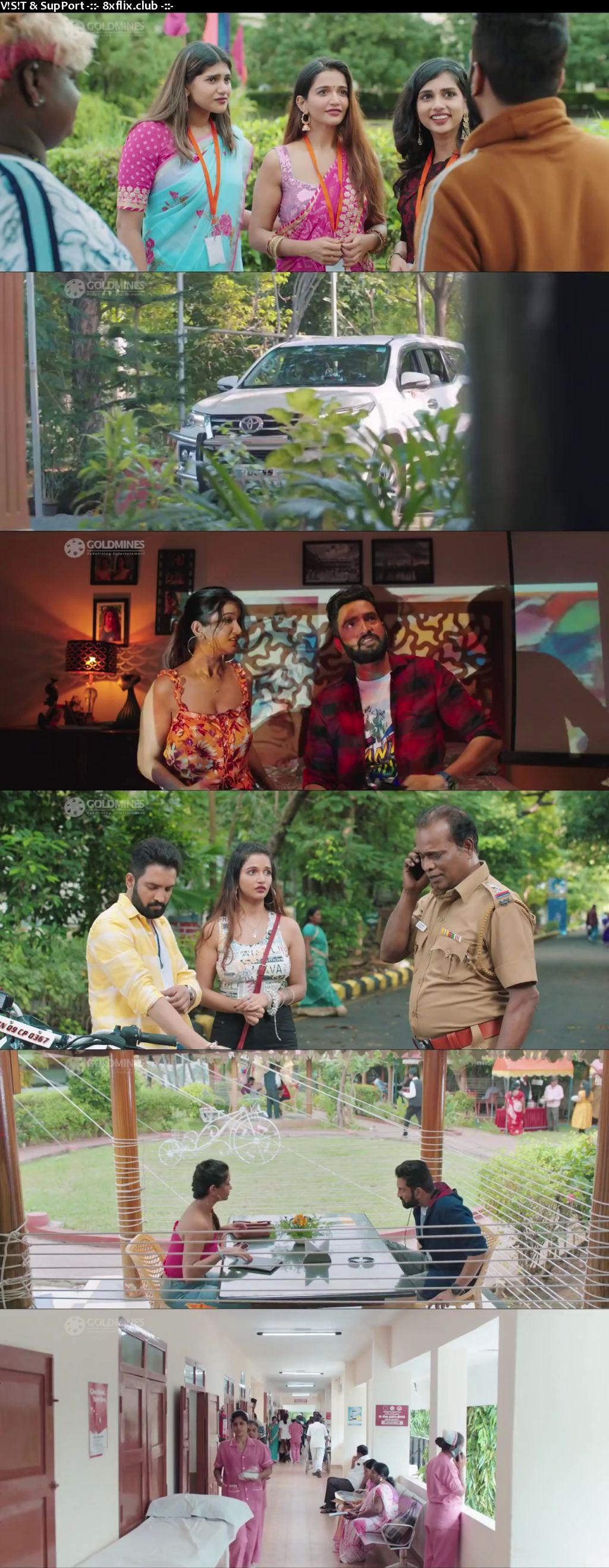 Parris Jeyaraj 2021 Full Movie Hindi Dubbed 720p 480p HDRip