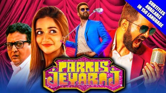 Parris Jeyaraj 2021 Hindi Dubbed 720p HDRip 850mb