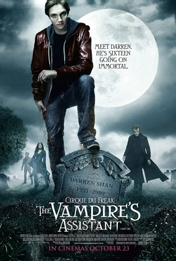 The Vampires Assistant 2009 Dual Audio Hindi English BRRip 720p 480p Movie Download