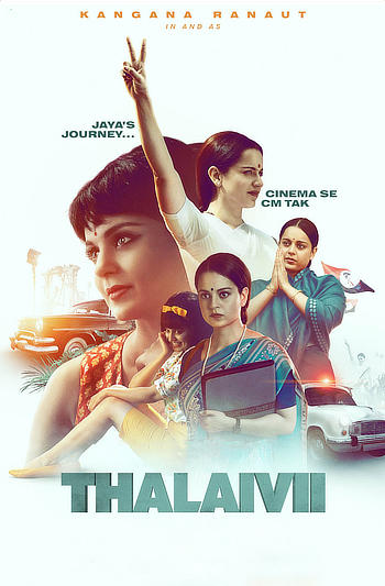 Thalaivii 2021 Hindi 1080p HDRip 2.4GB ESubs