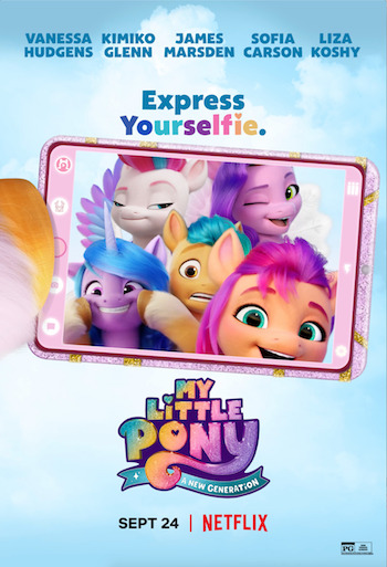My Little Pony A New Generation 2021 Dual Audio Hindi Movie Download