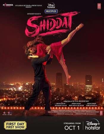 Shiddat (2021) Hindi 720p | 480p HDRip x265 AAC ESubs Download