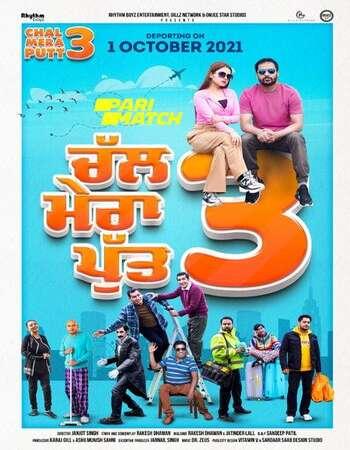 Chal Mera Putt 3 2021 Punjabi 720p 480p Pre-DVDRip x264