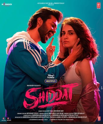 Shiddat 2021 Hindi Full Movie Download