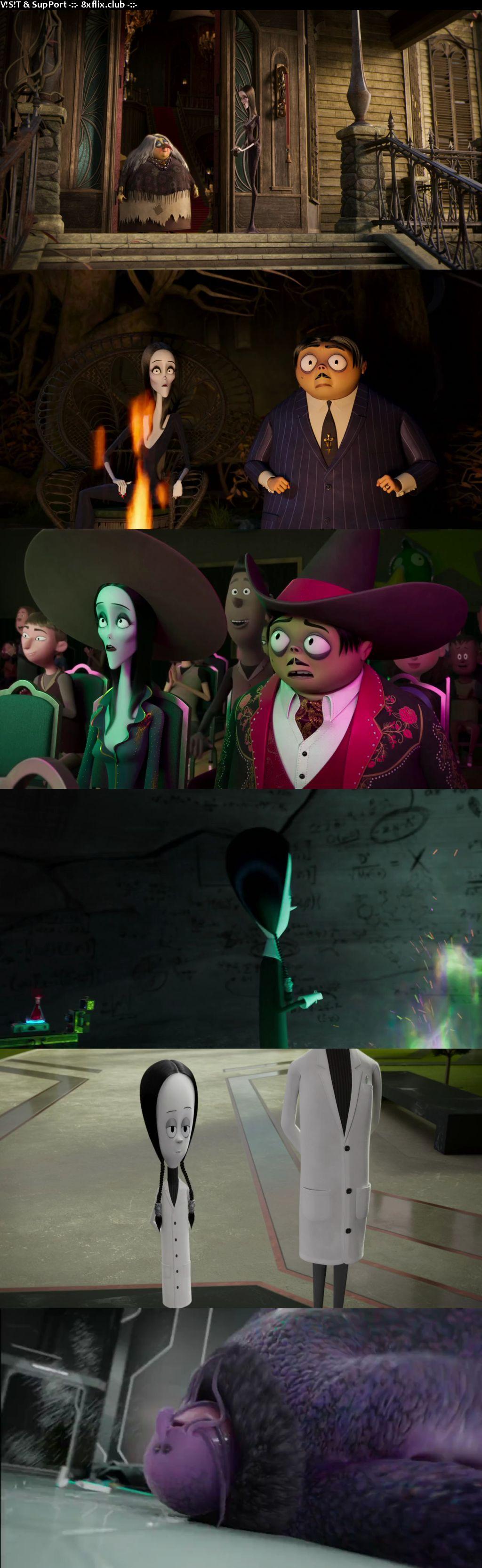 The Addams Family 2 2021 English 720p 480p Web-DL HD