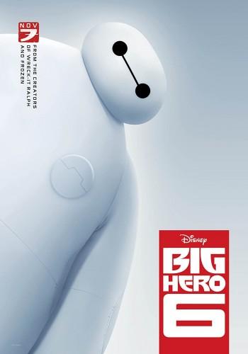 Big Hero 6 2014 Dual Audio Hindi English BRRip 720p 480p Movie Download