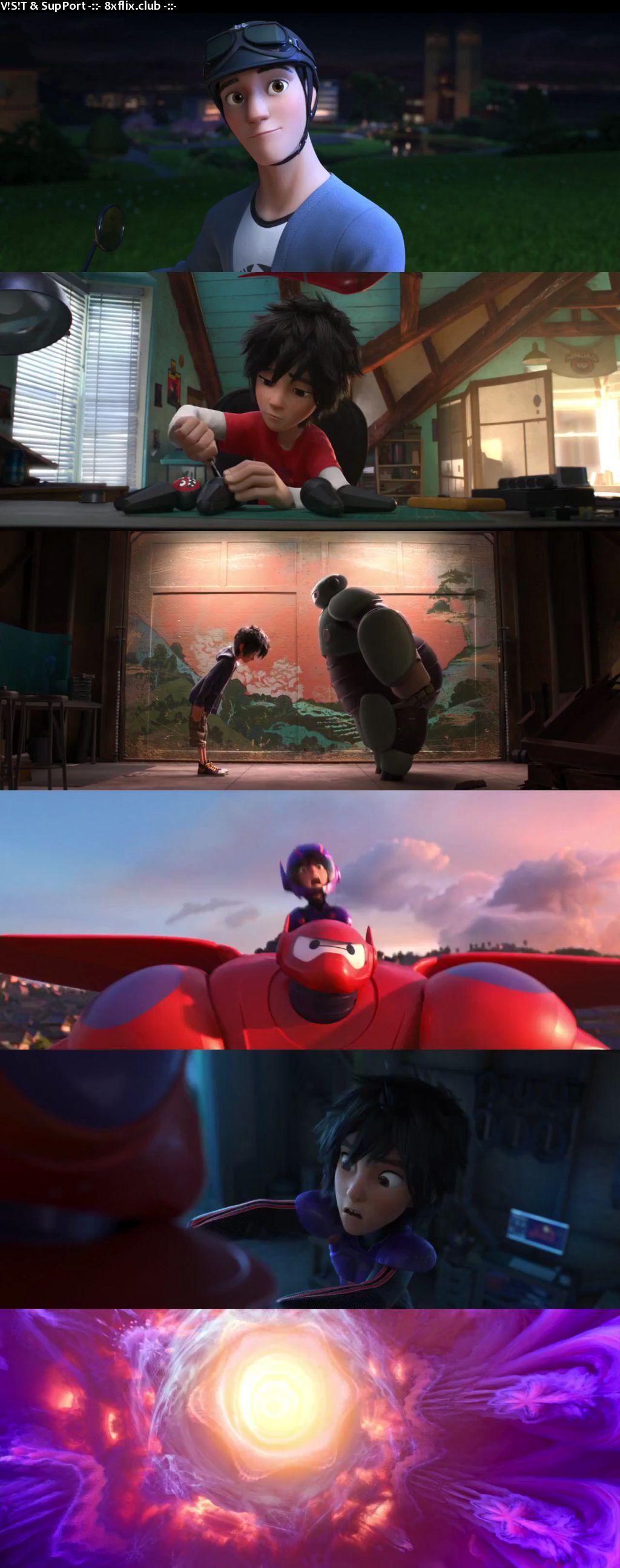 Big Hero 6 2014 Hindi English Dual Audio 720p 480p BluRay