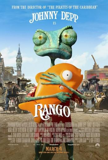 Rango 2011 Dual Audio Hindi English BRRip 720p 480p Movie Download