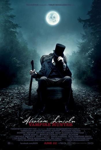 Abraham Lincoln Vampire Hunter 2012 Dual Audio Hindi English BRRip 720p 480p Movie Download