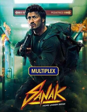 Sanak 2021 Hindi 720p HDRip ESubs
