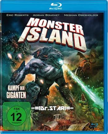 Monster Island 2019 Dual Audio Hindi 720p 480p BluRay [750MB 280MB]