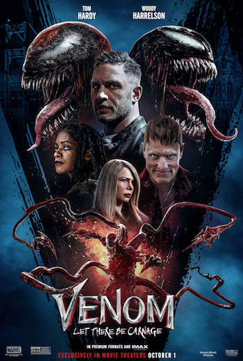 Venom Let There Be Carnage 2021 Dual Audio Hindi 720p 480p HDTS [1.1GB 280MB]