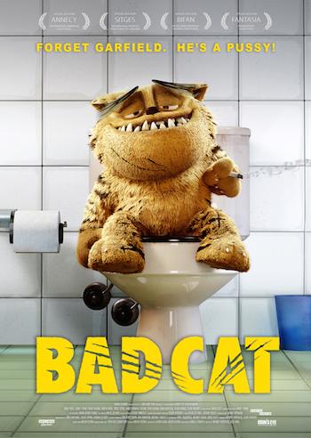 Bad Cat 2016 Dual Audio Hindi 720p 480p WEB-DL [750MB 280MB]