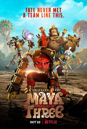 Maya And The Three S01 Dual Audio Hindi 720p 480p WEB-DL [2.5GB 950MB]